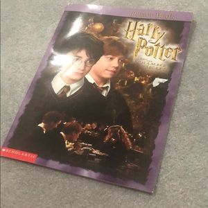2002 poster book/ Harry Potter chamber of secrets